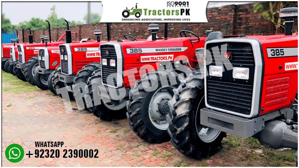 Massey Ferguson tractor 385 2WD for sale
