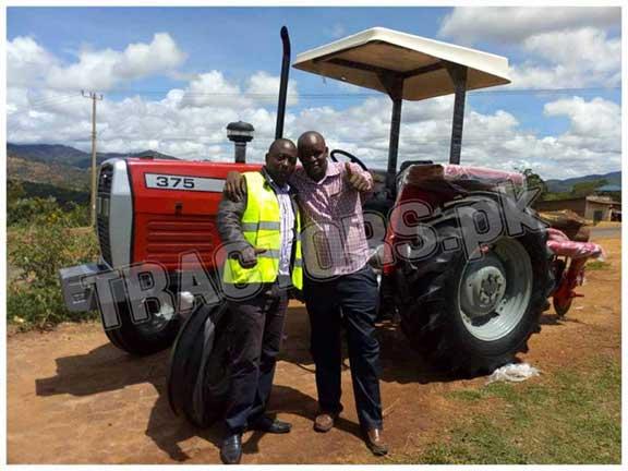 massey ferguson 375 tractors for botswana