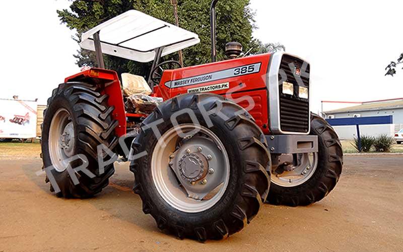Massey Ferguson MF 385 4WD tractors in Botswana