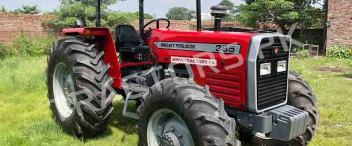 Massey Ferguson 385 4WD Tractors