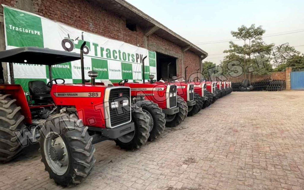 Massey Ferguson Tractors from Pakistan to Ghana